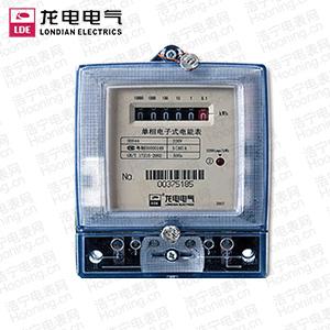 深圳龙电DDS44单相电子式电能表