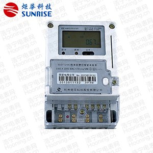 杭州炬华DDZY1296C单相本地费控智能电能表(开关外置)