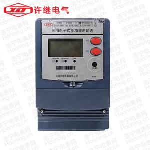 河南许继DTSD566 0.5S级、0.2S级三相四线电子式多功能电能表