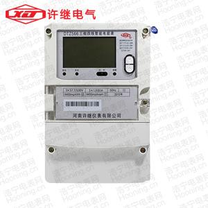 河南许继DTZ566 0.2S级三相四线智能电能表