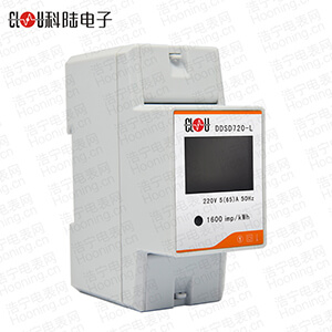 深圳科陆DDSD720-L 导轨式电能表