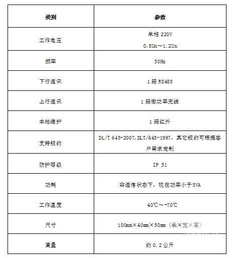 DCJL13-HX3400技术参数
