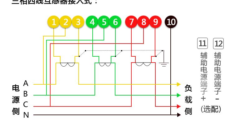 杭州海兴DTZ208型0.5级;1级三相四线智能电能表(谐波表)