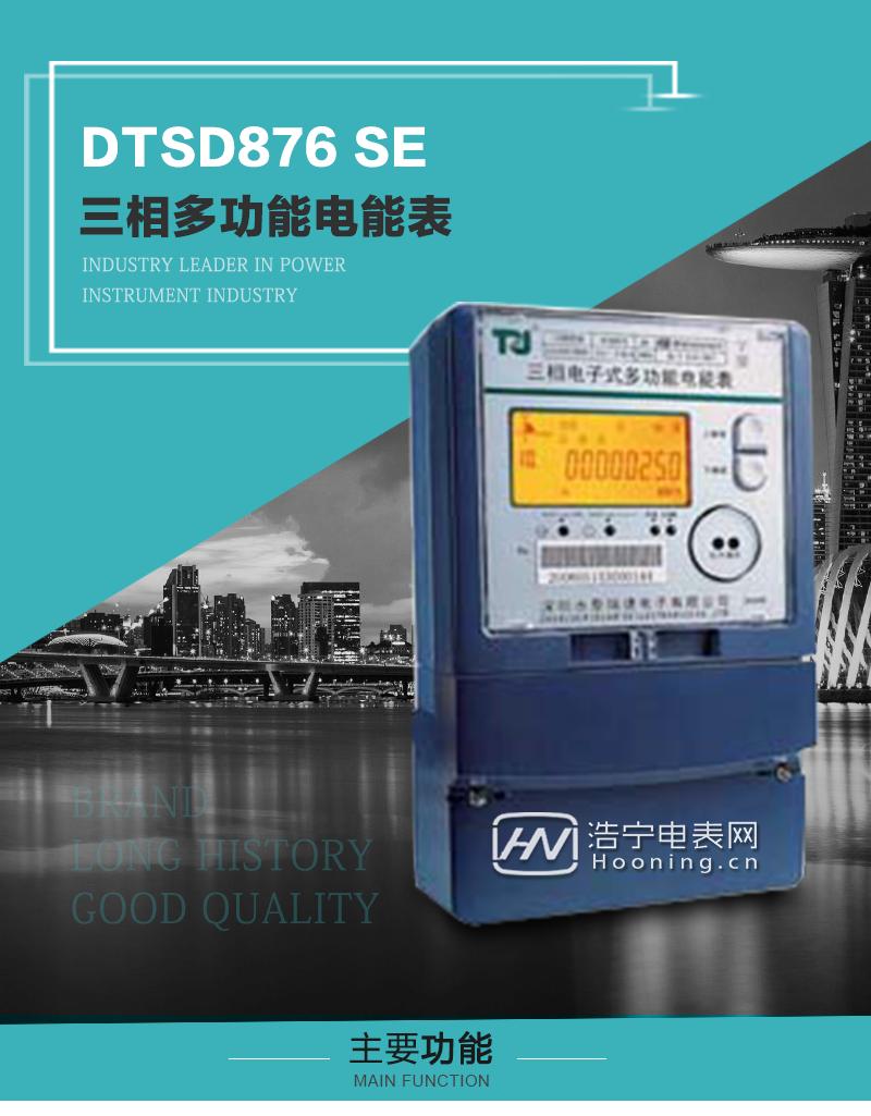 航天泰瑞捷DTSD876 SE型三相多功能电能表