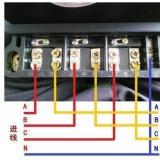 威胜DTSD341-MD3电表电流10(40)A的直通式怎么接线?