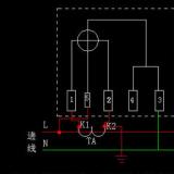 单相电表怎么接互感器