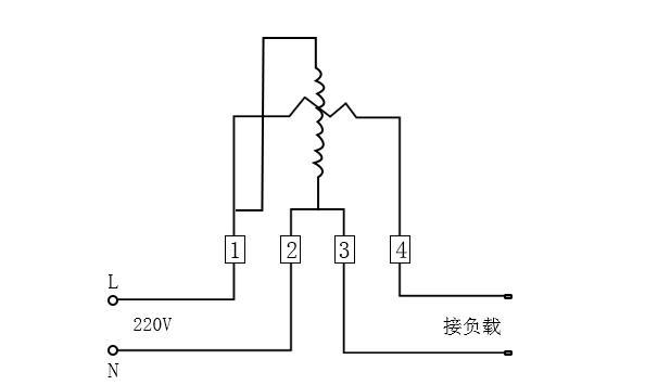 单相电子电表怎么接线