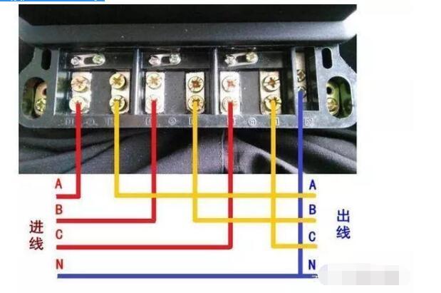 三相电表怎么接