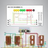 华立DSZ535三相三线电表接线图