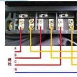 三相电表接线图片