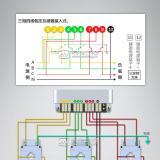 三相电表带互感器怎样接线图